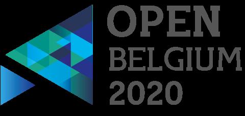 Logo open Belgium 2020